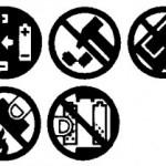 Symbole nur mit Text zu verstehen