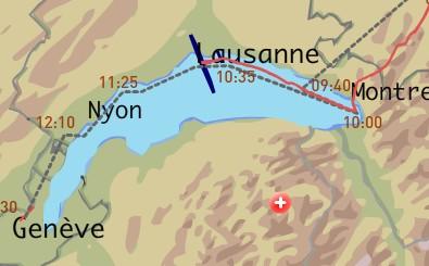 Unterwegs nach Genf