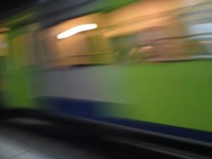 Zugsdurchfahrt